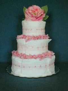 Diaper Cakes Unlimited Elegant Cakes